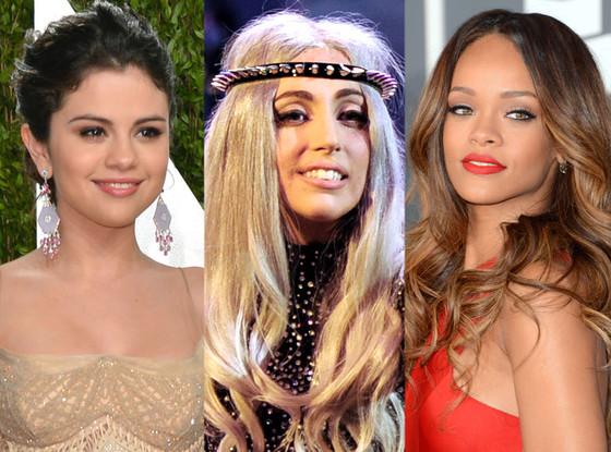 Young Hollywood Gives Back, Selena Gomez, Lady Gaga, Rihanna
