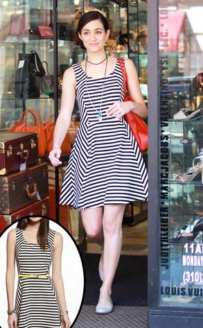 Emmy Rossum, Express Dress