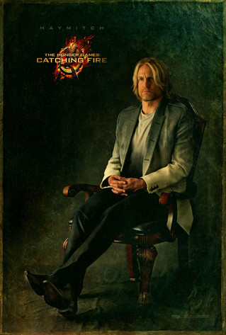 Hunger Games Poster, Haymitch