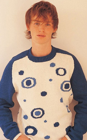Young Eddie Redmayne Knitting Pattern Book Modelsee The Flashback