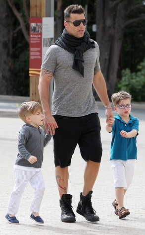 Pity, Ricky martin twin sons