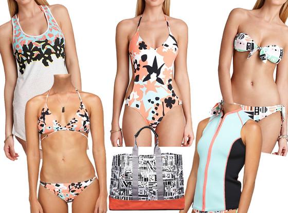 DVF for Roxy Swimwear