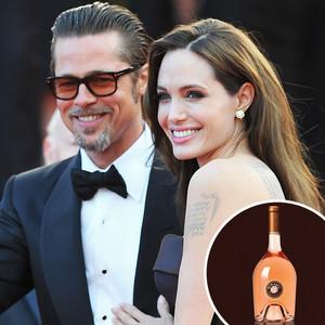 Angelina Jolie, Brad Pitt, Wine