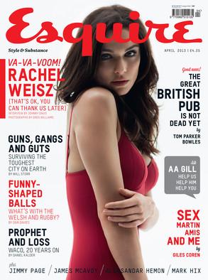 Rachel Weisz, Esquire UK