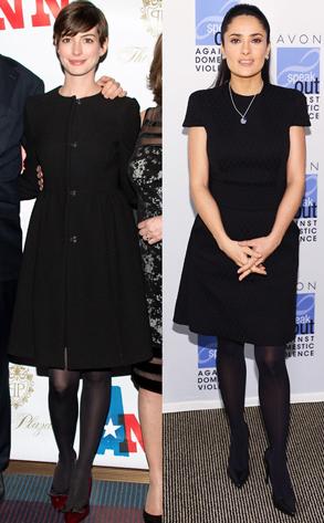 Anne Hathaway, Salma Hayek