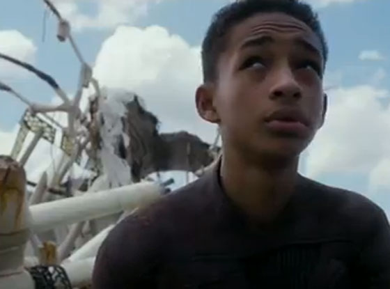 Will Smith, Jaden Smith, After Earth Trailer