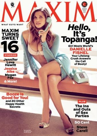 Danielle Fishel, Topanga, Maxim