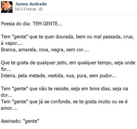 Xuxa, Junno Andrade