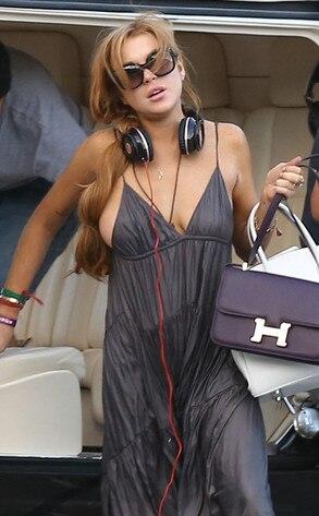 Idea Really Lindsay lohan nipple slip