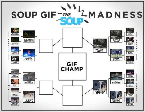 Soup Gif Madness Updated bracket 4-1