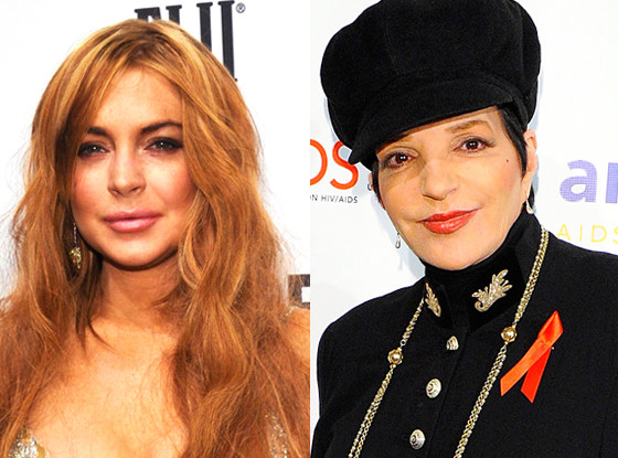 Liza Minnelli, Lindsay Lohan