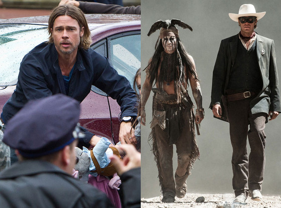 Lone Ranger, World War Z