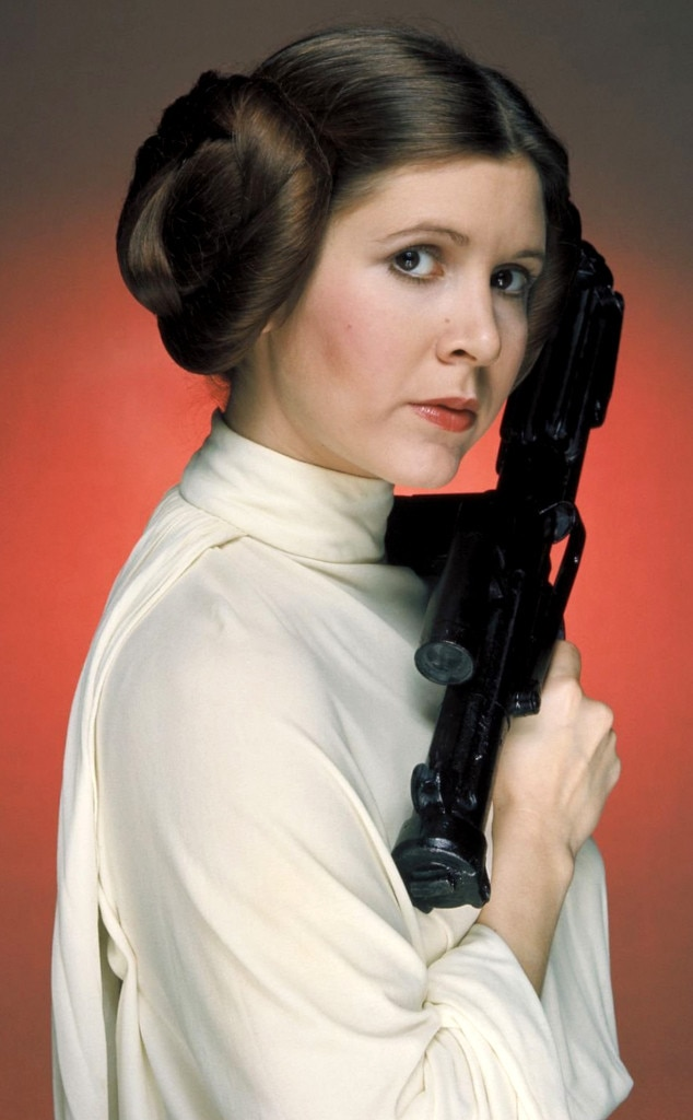 Carrie Fisher, Star Wars, Crazy OnScreen Hairdos