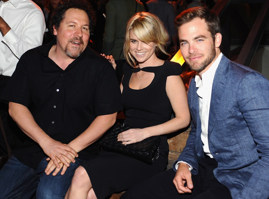 Jon Favreau, Alice Eve, Chris Pine, Coach