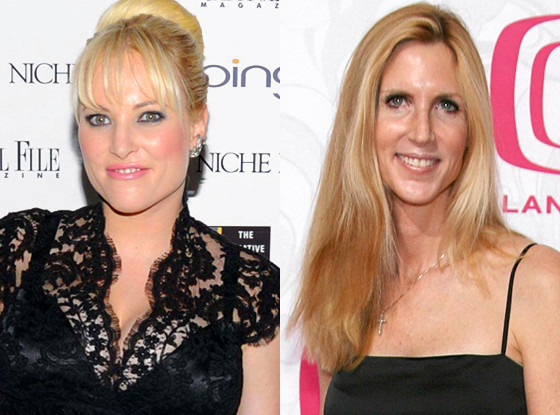 Meghan McCain, Anne Coulter