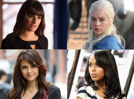 Girl on Top, Lea Michele, Glee, Nina Dobrev, The Vampire Diaries, Kerry Washington, Scandal, Emilia Clarke, Game of Thrones