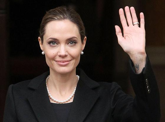 Angelina Jolie, G8 Summit