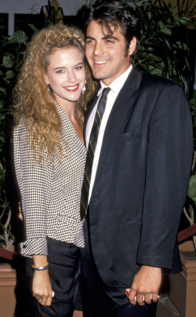 Kelly Preston, George Clooney, Odd Couple
