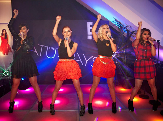 The Saturdays, Germany