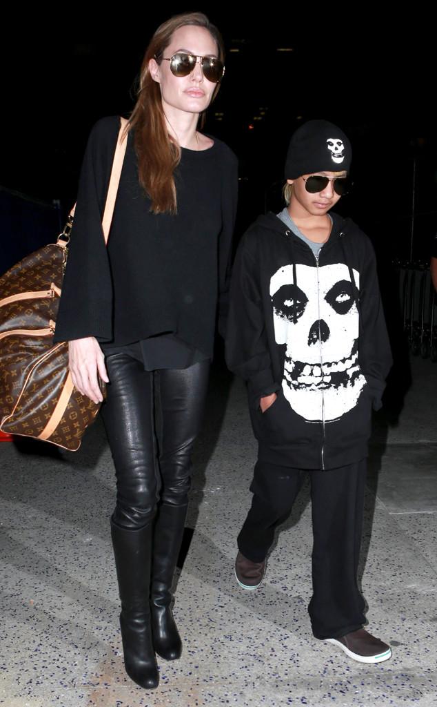Angelina Jolie, Maddox