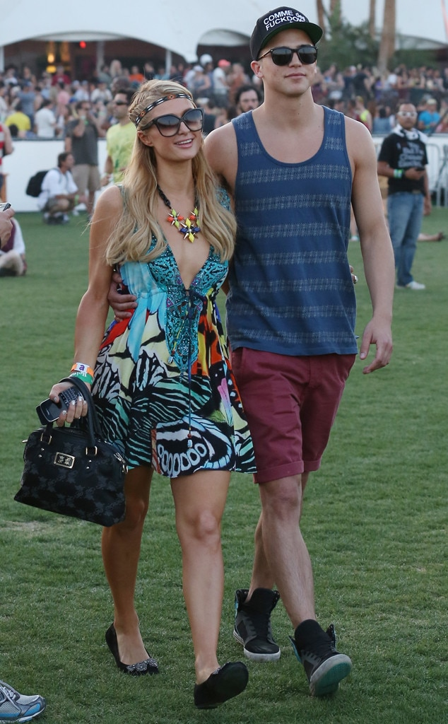 Paris Hilton, River Viperi, Coachella, 2013
