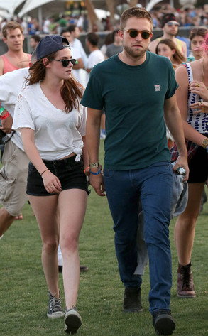 Robert Pattinson, Kristen Stewart, Coachella 2013