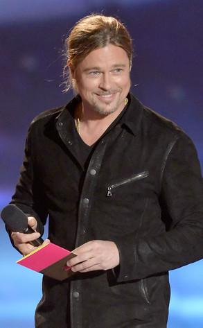 MTV Movie Awards Show, Brad Pitt