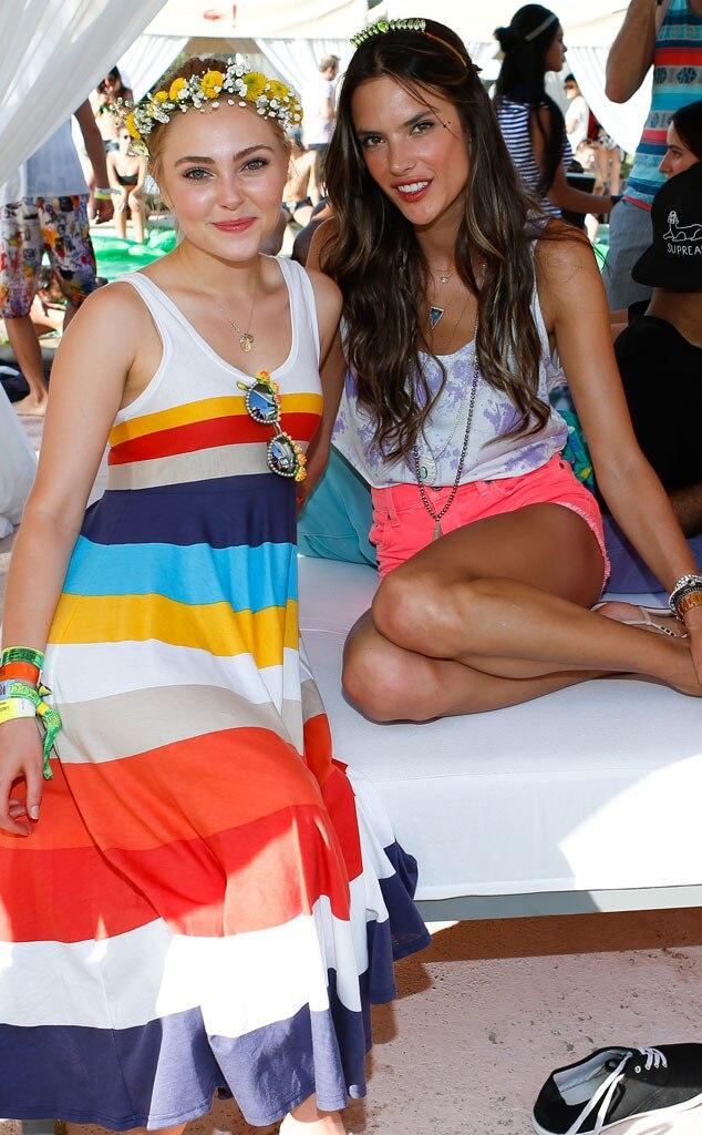 AnnaSophia Robb, Alessandra Ambrosio, Coachella 2013