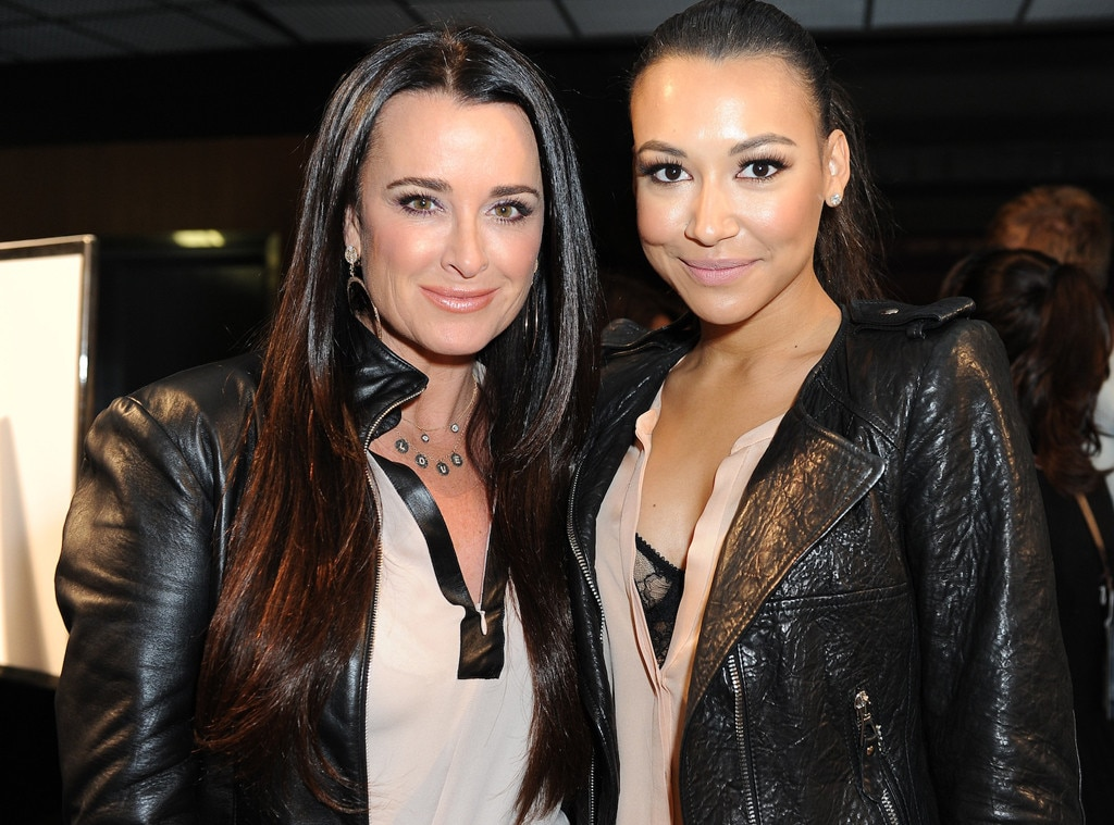 Kyle Richards, Naya Rivera