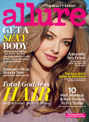 Amanda Seyfried, Allure