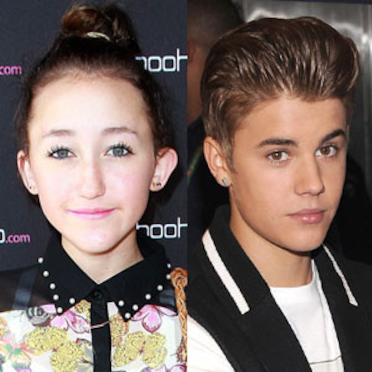 Miley Cyrus Sister Cops To Stealing Justin Bieber S Clothes E Online
