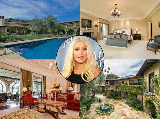 Christina Aguilera Home