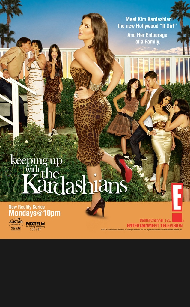 Keep Up with the Kardashians Keyart