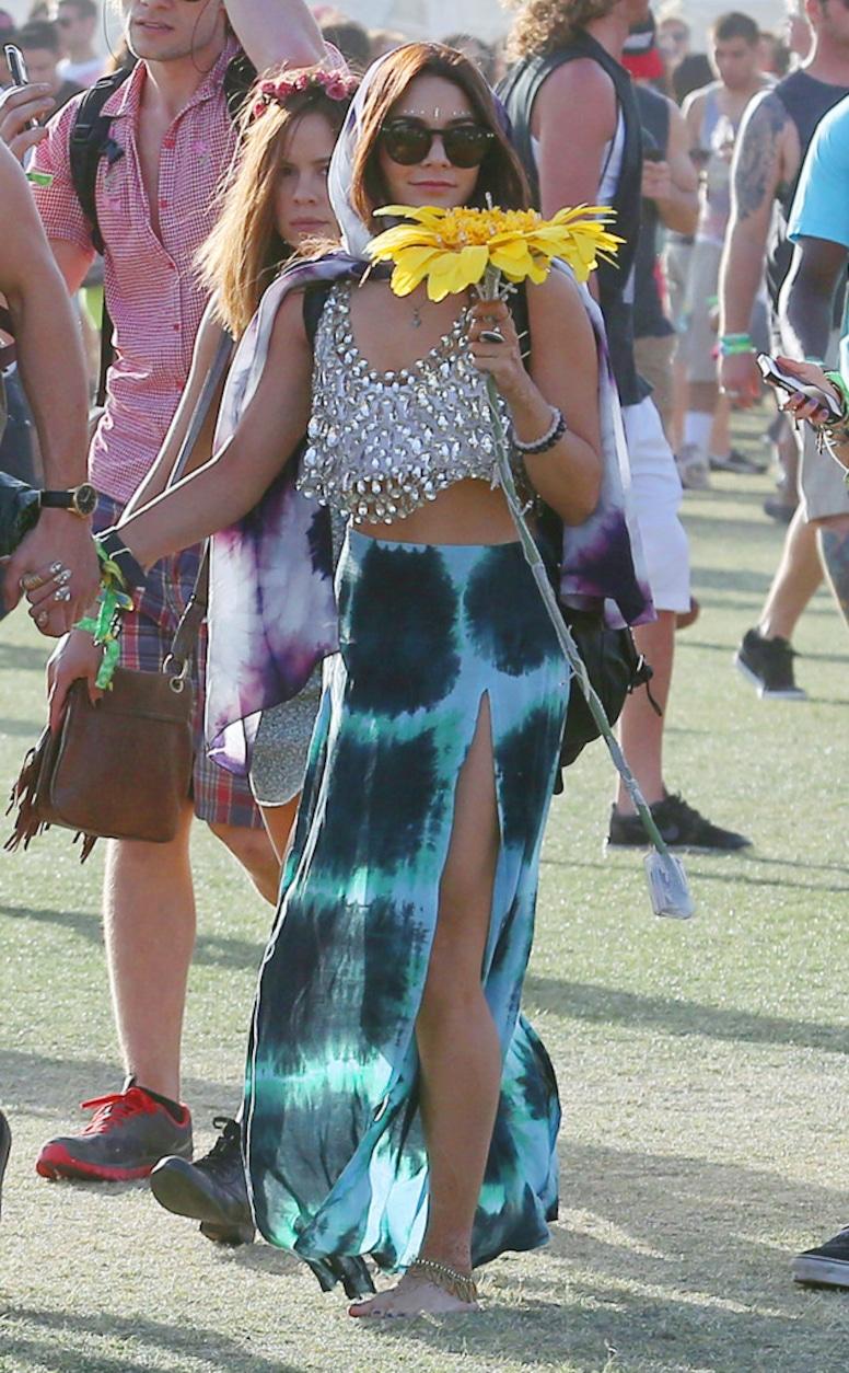 Vanessa Hudgens, Coachella 2013