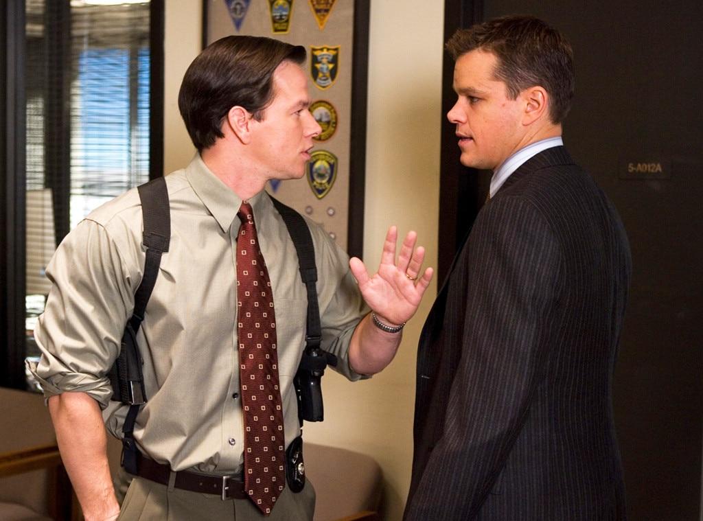The Departed, Mark Wahlberg, Matt Damon