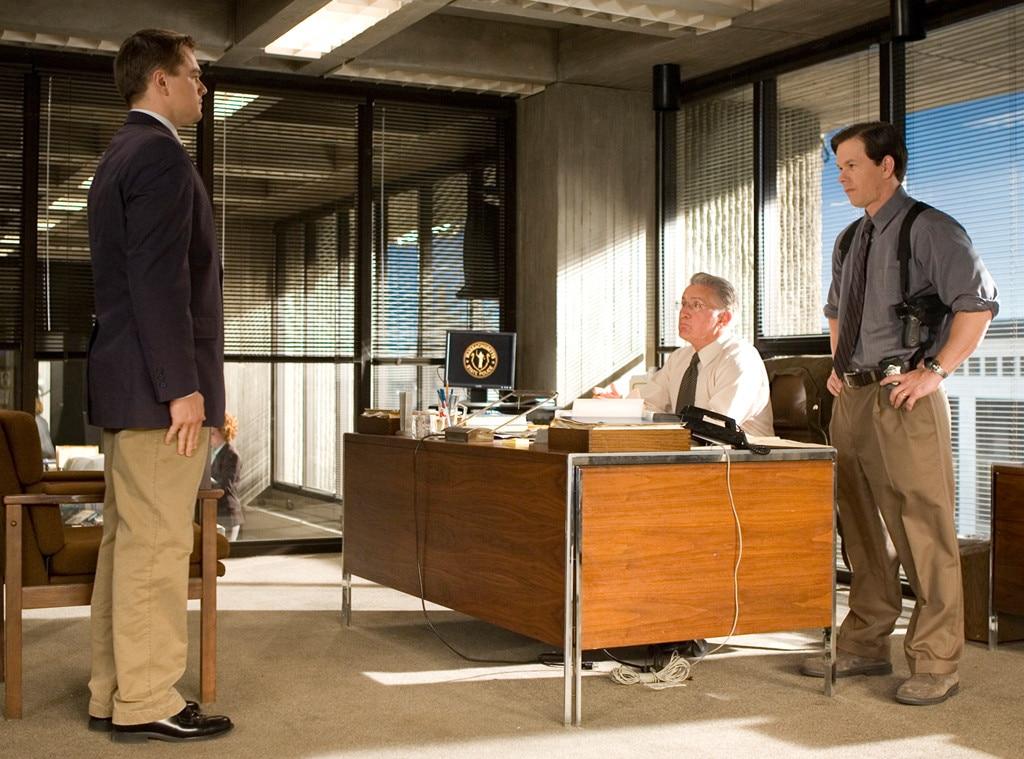 The Departed, Mark Wahlberg, Leonardo DiCaprio, Martin Sheen