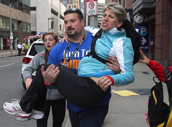 Joe Andruzzi, Boston Marathon Explosions