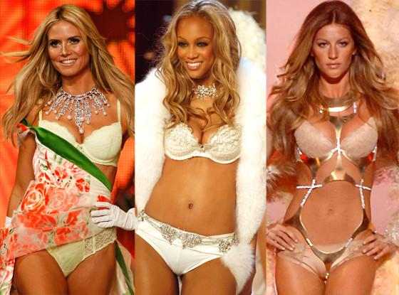Heidi Klum, Tyra Banks, Gisele Bunchen, Victoria's Secret