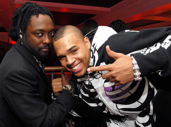 will.i.am, Chris Brown