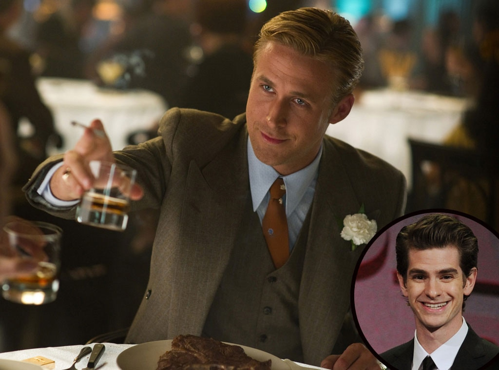 """Andrew Garfield -  """"He's just a dreamboat. It's undebatable. He's just stunning. Not only physically, but in terms of talent—a general sex appeal that he has,"""" the  Spider-Man heartthrob told Jay Leno about his """"proper man crush."""""""