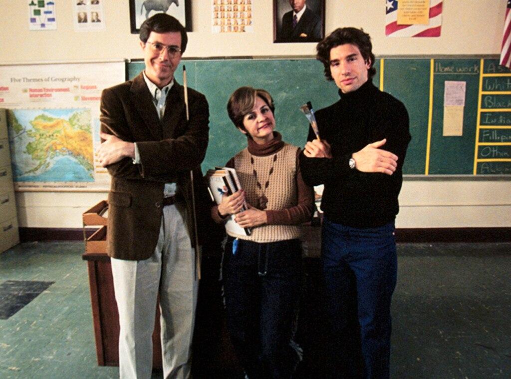 Stephen Colbert, Strangers With Candy, Onscreen Teachers
