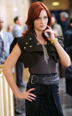 Emily Blunt, The Devil Wears Prada, Onscreen Assistants