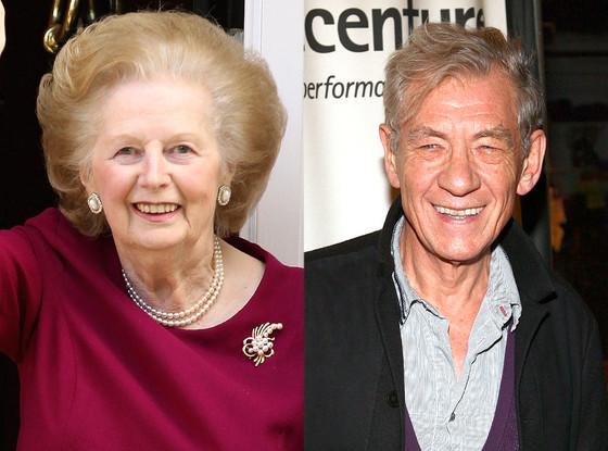 Margaret Thatcher, Ian McKellen
