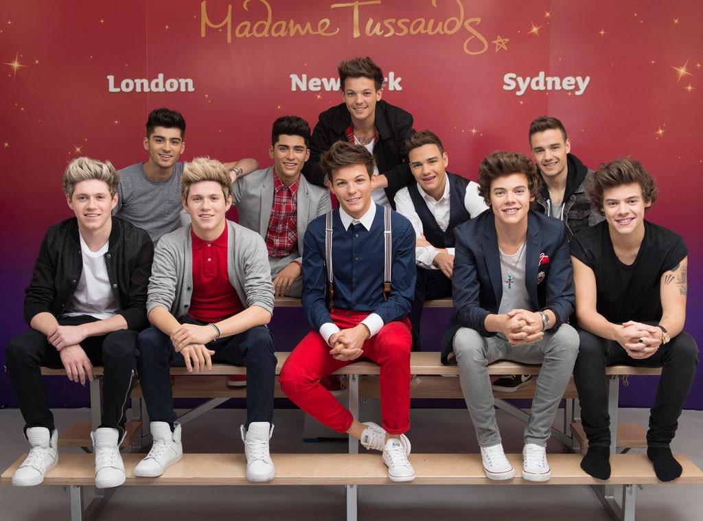 One Direction, Madame Tussauds Wax Figures