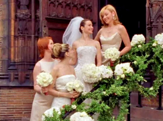 Sex and the city charlottes wedding