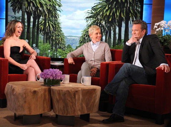 Jennifer Love Hewitt, Ellen DeGeneres, Matthew Perry, The Ellen Show