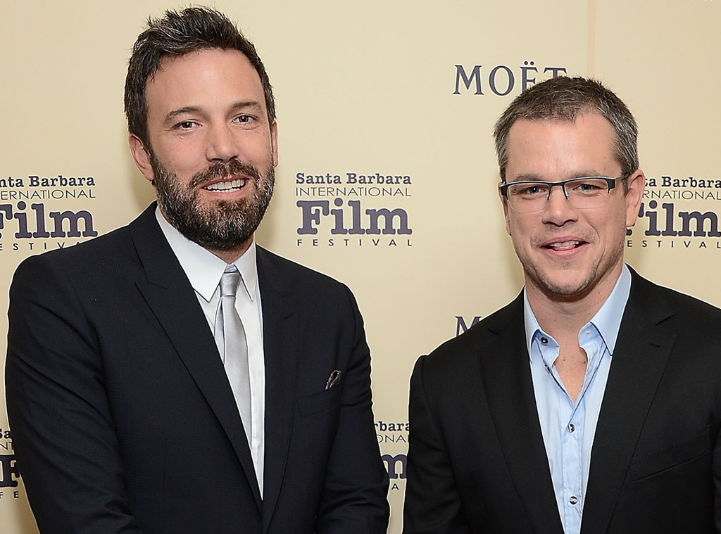 Ben Affleck & Matt Damon -  Long before they were famous and Oscar winners, the Boston boys lived together while writing the script for  Good Will Hunting .