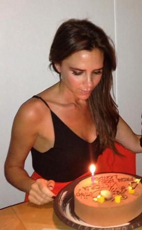 Victoria Beckham, Birthday Cake