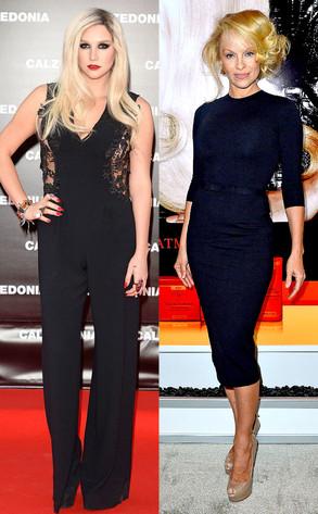 Kesha, Ke$ha, Pamela Anderson