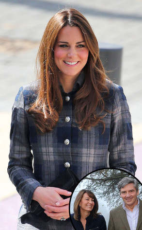 Kate Middleton, Carole Middleton, Michael Middleton